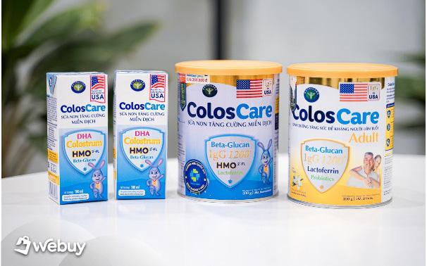 Review sữa ColosCare: Món đồ uống tăng cường đề kháng mới, chị em tham khảo để chủ động bảo vệ cả gia đình