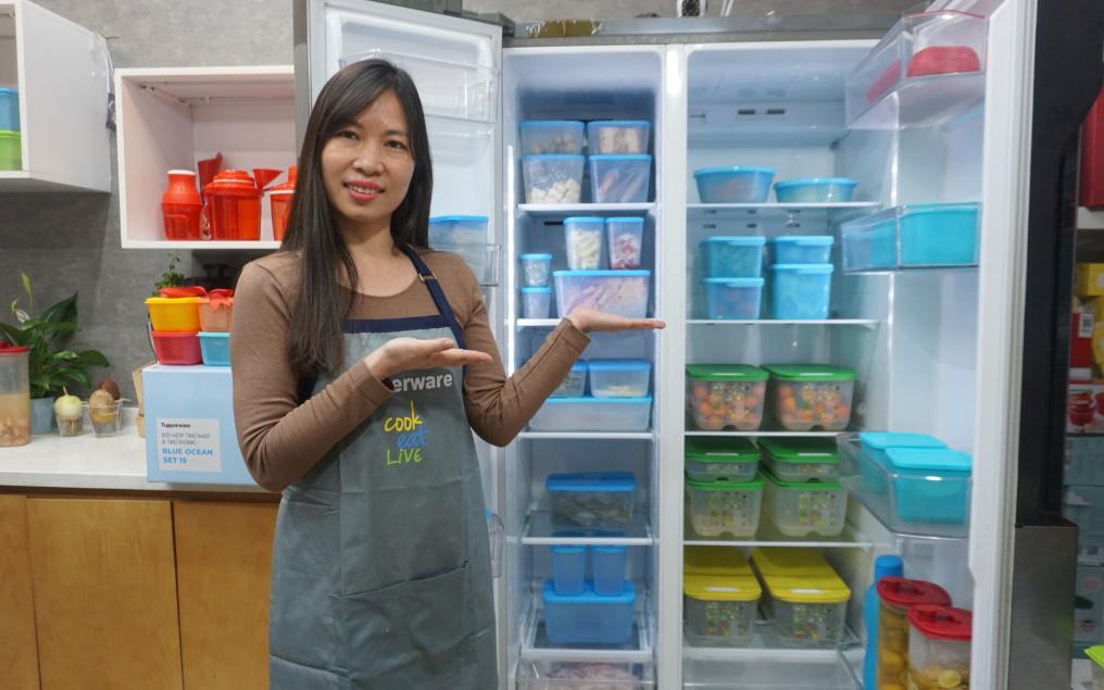Hoàng Bích Ngọc - 8x sở hữu chuỗi cửa hàng đồ gia dụng cao cấp Tupperware đình đám tại Hà Nội