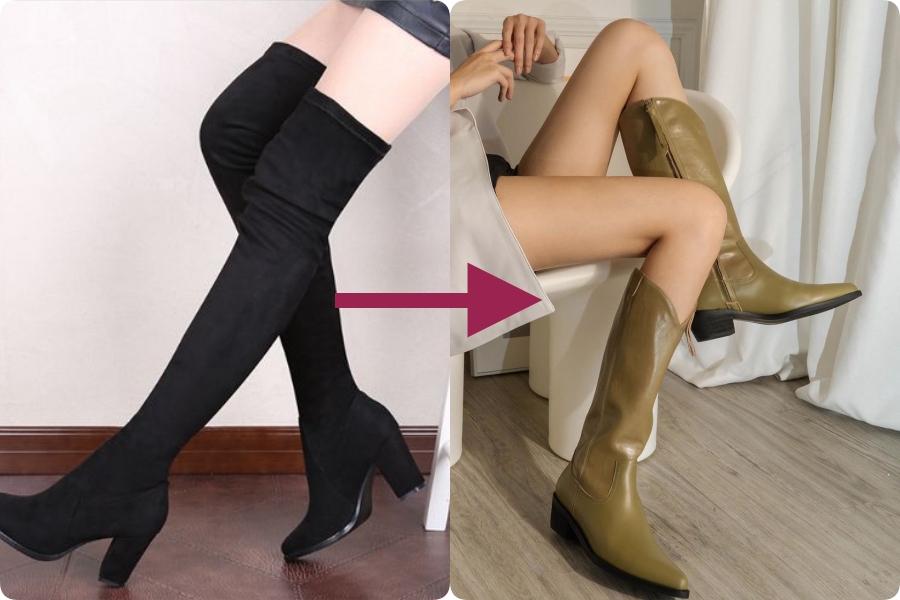 Chân váy + boots - Ảnh 2.