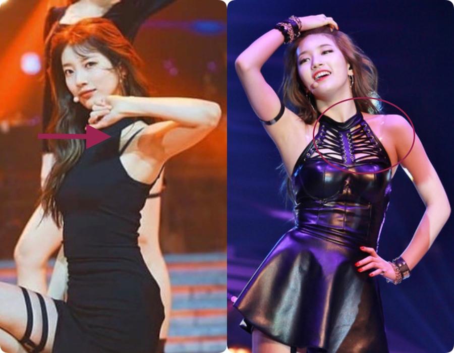 """Suzy lộ ngay dây áo lót """"ngang trái"""" kiến netizen la ó - Ảnh 4."""