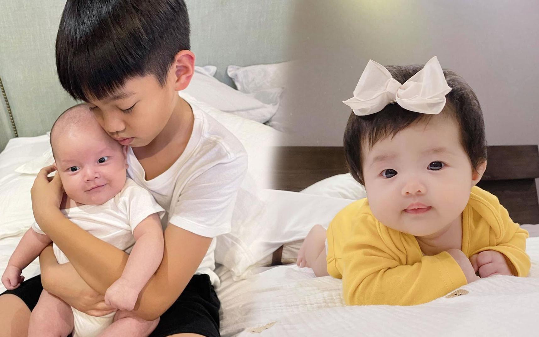 Loạt nhóc tỳ nhà sao Việt chào đời năm 2020 vừa lần lượt lộ diện, xem ảnh xong ai cũng ngưỡng mộ cách nuôi con của các mẹ