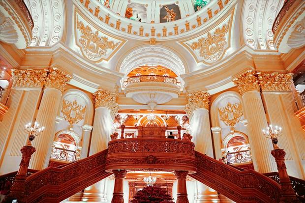 Cận cảnh phòng giặt đồ cao cấp cho đại gia trong lâu đài mạ vàng gây choáng ở Ninh Bình: Có giá bằng cả căn nhà của người bình thường - Ảnh 4.
