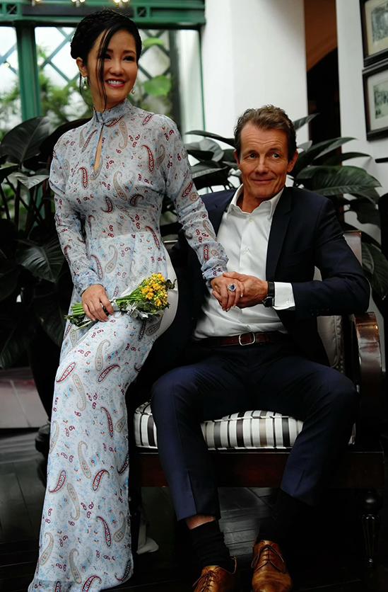 Đám cưới con gái Thanh Lam: Hồng Nhung công khai sánh đôi bên bạn trai ngoại quốc, Mỹ Linh và dàn sao đình đám cùng góp mặt - Ảnh 3.