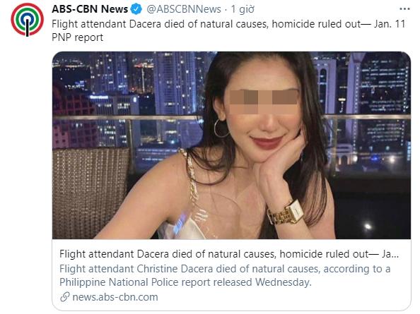 Công bố báo cáo pháp y chính thức về nguyên nhân gây ra cái chết của Á hậu Philippines sau gần 1 tháng tạo ra nhiều khúc mắc - Ảnh 3.