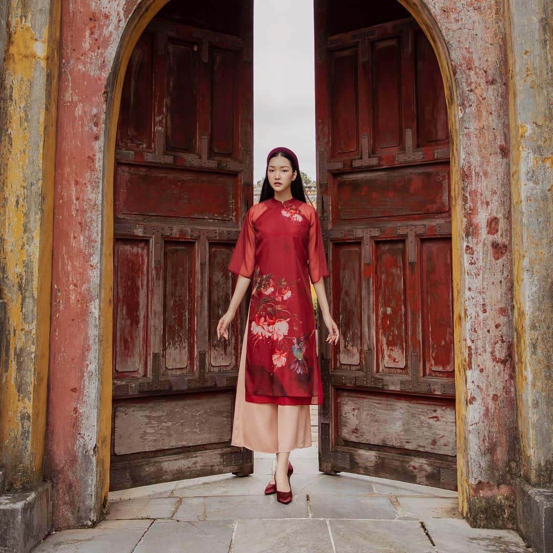 Sao Việt rộn ràng diện áo dài đón Tết sớm, kiểu hot hit nhất năm nay nằm cả ở chi tiết này - Ảnh 5.