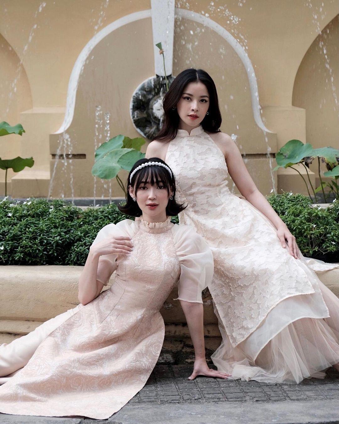 Sao Việt rộn ràng diện áo dài đón Tết sớm, kiểu hot hit nhất năm nay nằm cả ở chi tiết này - Ảnh 13.