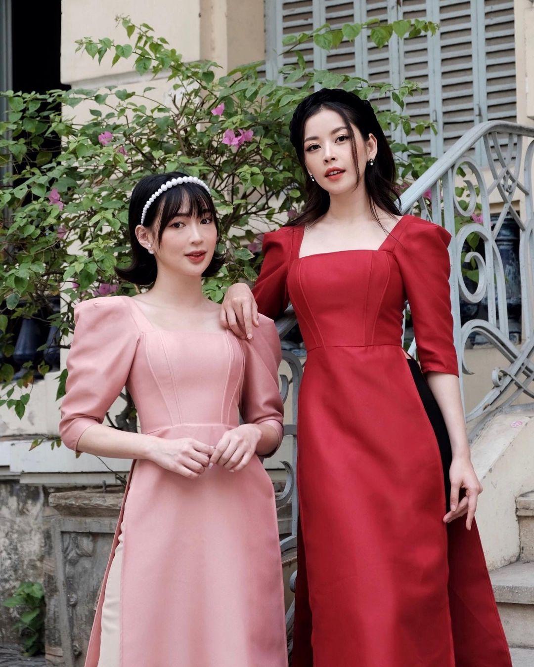 Sao Việt rộn ràng diện áo dài đón Tết sớm, kiểu hot hit nhất năm nay nằm cả ở chi tiết này - Ảnh 12.