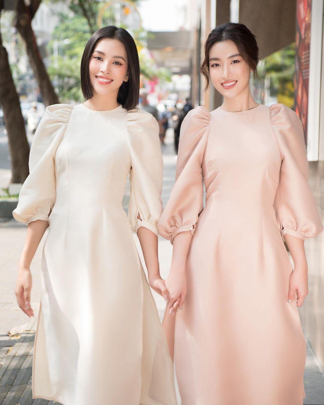 Sao Việt rộn ràng diện áo dài đón Tết sớm, kiểu hot hit nhất năm nay nằm cả ở chi tiết này - Ảnh 8.