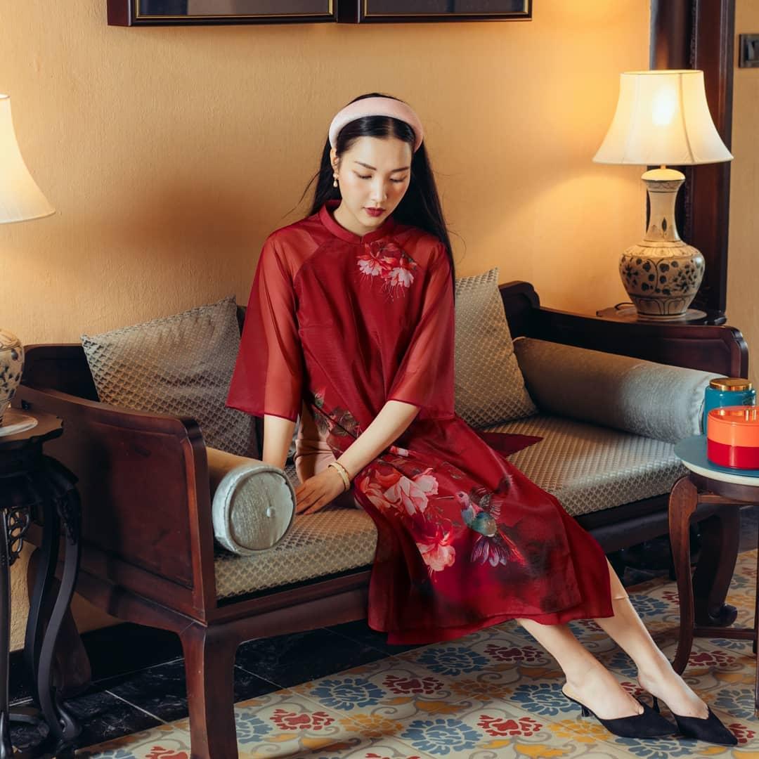 Sao Việt rộn ràng diện áo dài đón Tết sớm, kiểu hot hit nhất năm nay nằm cả ở chi tiết này - Ảnh 7.