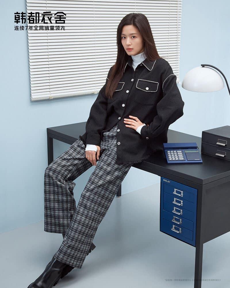 Hóng 10 set đồ của Jeon Ji Hyun, chị em nhặt ra khối tip lên đồ ưng mắt vừa sang vừa trẻ cho mùa lạnh - Ảnh 6.