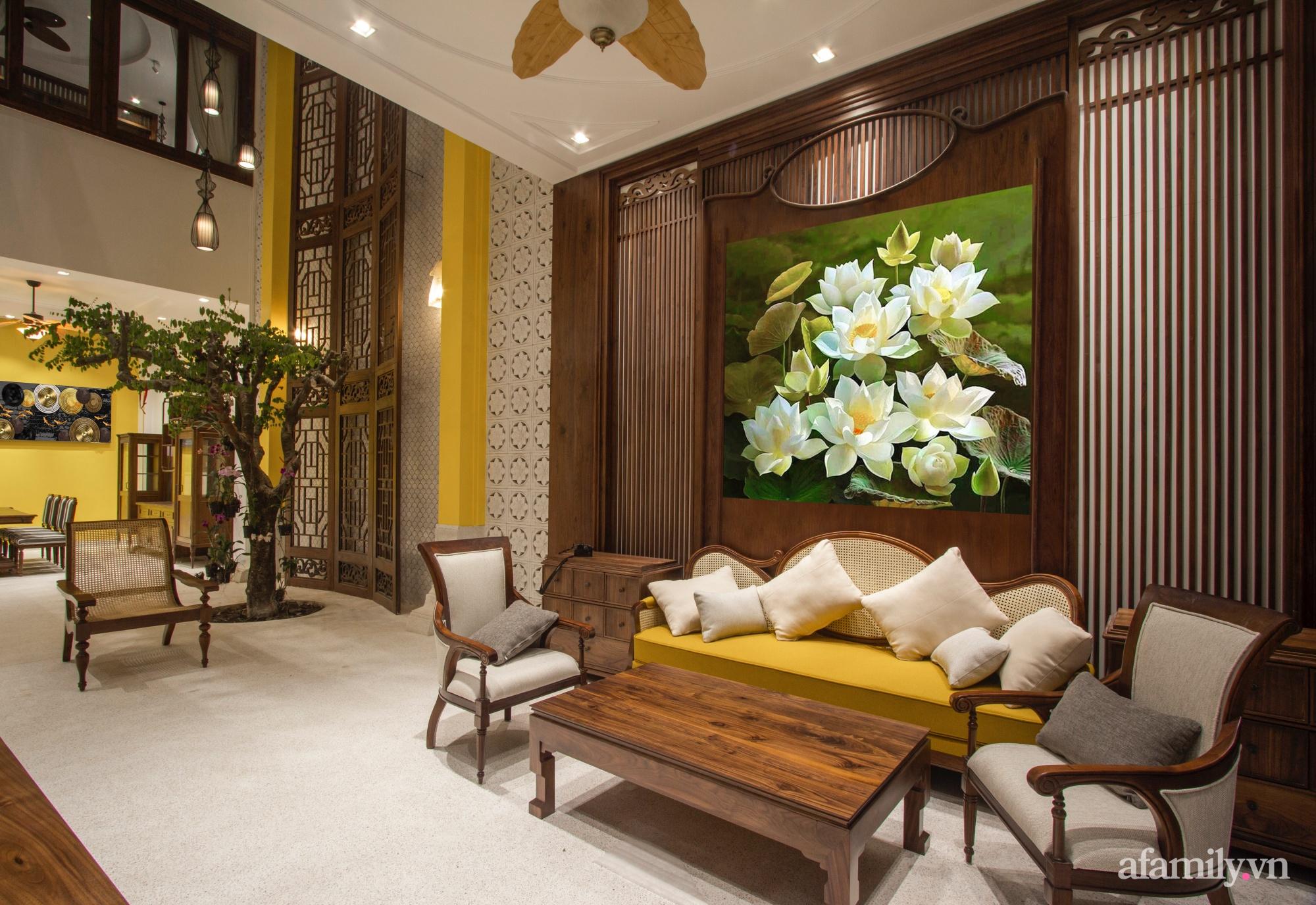 Nhà phố 8x16m đẹp bình yên, tĩnh tại mang hơi hướng của Đạo Phật và phong cách Á Đông ở Buôn Ma Thuột - Ảnh 3.