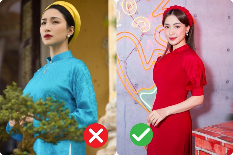 Rút kinh nghiệm từ Hòa Minzy: Nàng thấp bé, cao chưa đến mét 6 cần tránh xa dáng áo dài này - Ảnh 3.