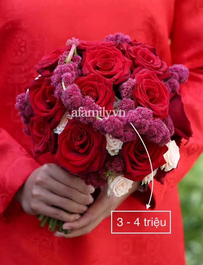 """""""Bóc"""" giá hoa cưới Phan Thành - Primmy Trương: """"Sương sương"""" hoa tươi cũng giá vài trăm triệu  - Ảnh 1."""