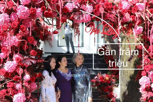 """""""Bóc"""" giá hoa cưới Phan Thành - Primmy Trương: """"Sương sương"""" hoa tươi cũng giá vài trăm triệu  - Ảnh 3."""