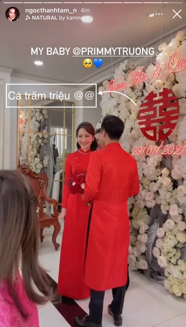 """""""Bóc"""" giá hoa cưới Phan Thành - Primmy Trương: """"Sương sương"""" hoa tươi cũng giá vài trăm triệu  - Ảnh 7."""
