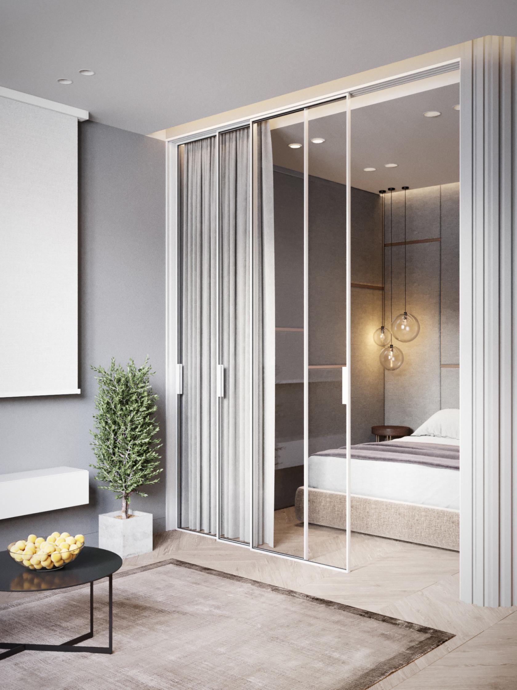 10 mẫu phòng ngủ lý tưởng với vách ngăn bằng kính với không gian còn lại trong nhà - Ảnh 1.