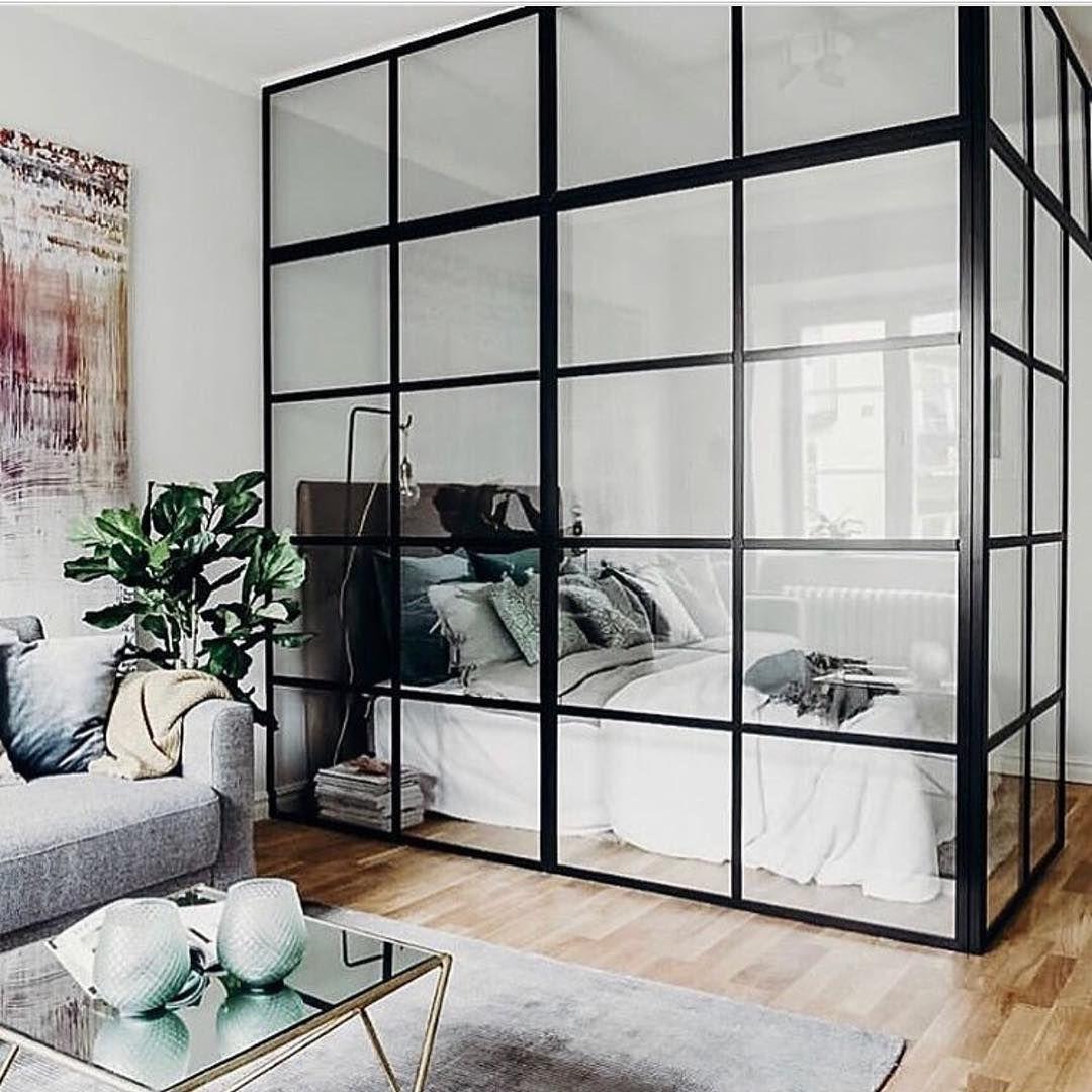 10 mẫu phòng ngủ lý tưởng với vách ngăn bằng kính với không gian còn lại trong nhà - Ảnh 3.