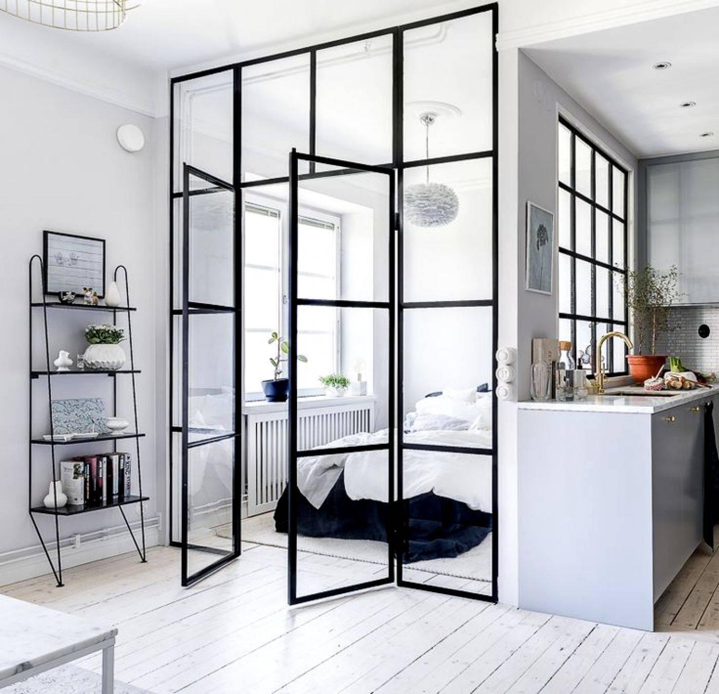 10 mẫu phòng ngủ lý tưởng với vách ngăn bằng kính với không gian còn lại trong nhà - Ảnh 6.
