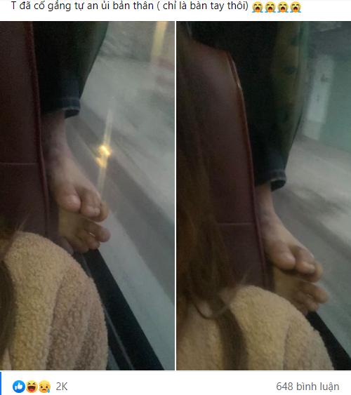"""Về quê ăn Tết, cô gái ám ảnh với """"đôi bàn chân to bản"""" nhem nhuốc phía sau dí thẳng vào mặt mình - Ảnh 1."""