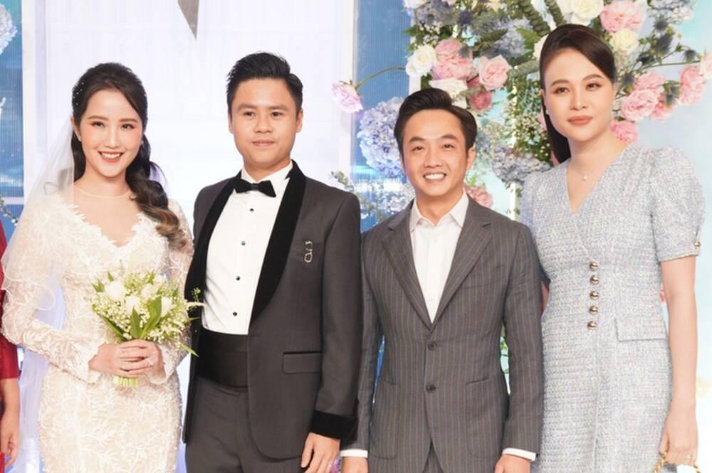 Mai Phương Thúy là khách mời ăn mặc trễ nải nhất tại đám cưới Phan Thành - Primmy Trương - Ảnh 5.