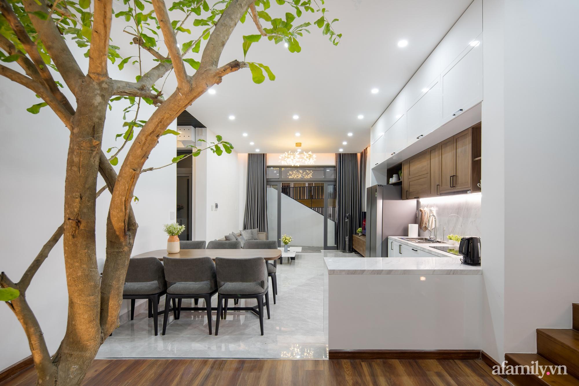 Nhà trong hẻm nhỏ vẫn ngập tràn ánh sáng, duyên dáng với nội thất tối giản ở Đà Nẵng - Ảnh 10.