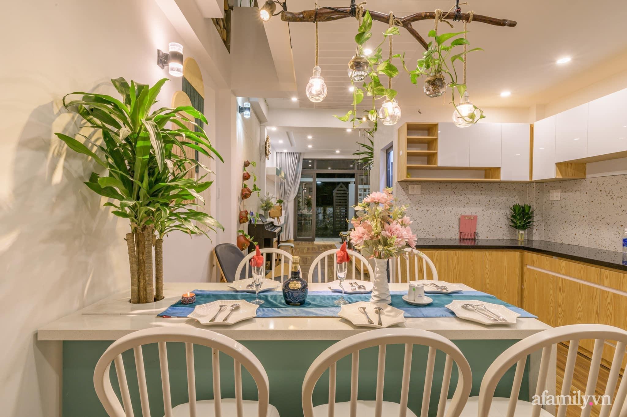 Nhà phố 4 tầng rộng 58m² đẹp an yên với giếng trời nhiều cây xanh và ánh nắng ngập tràn ở Đà Nẵng - Ảnh 7.