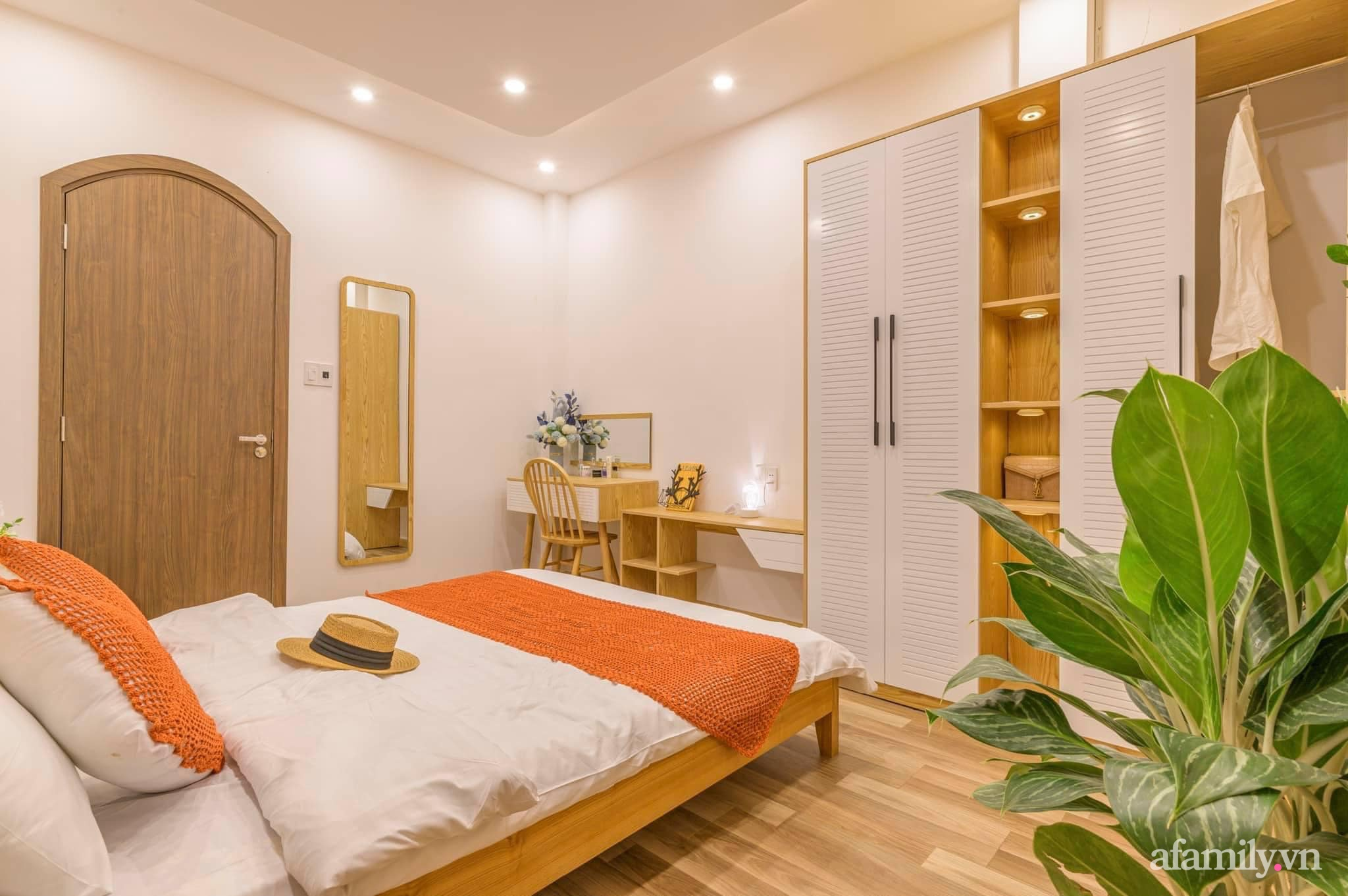 Nhà phố 4 tầng rộng 58m² đẹp an yên với giếng trời nhiều cây xanh và ánh nắng ngập tràn ở Đà Nẵng - Ảnh 18.