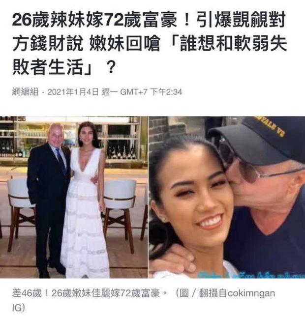 Chuyện tình yêu của cô gái Việt 26 tuổi yêu tỷ phú Mỹ 72 tuổi lên hẳn báo Trung Quốc, chính chủ cũng hoảng hốt vì những điều không ngờ! - Ảnh 4.