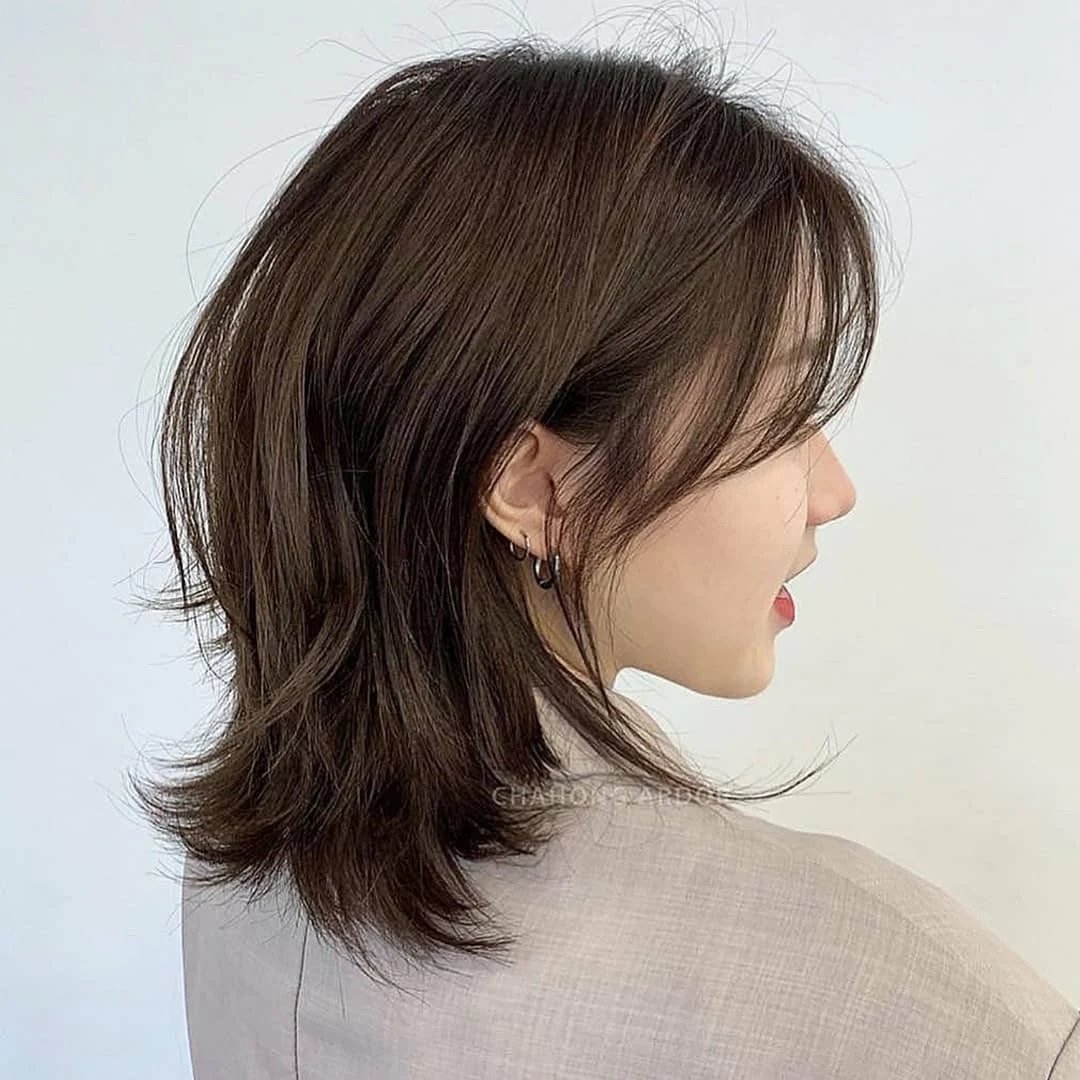 """Nàng tóc ngắn muốn đổi tóc thì cần ngó ngay 6 kiểu tóc siêu xinh và """"nịnh mặt"""" - Ảnh 9."""