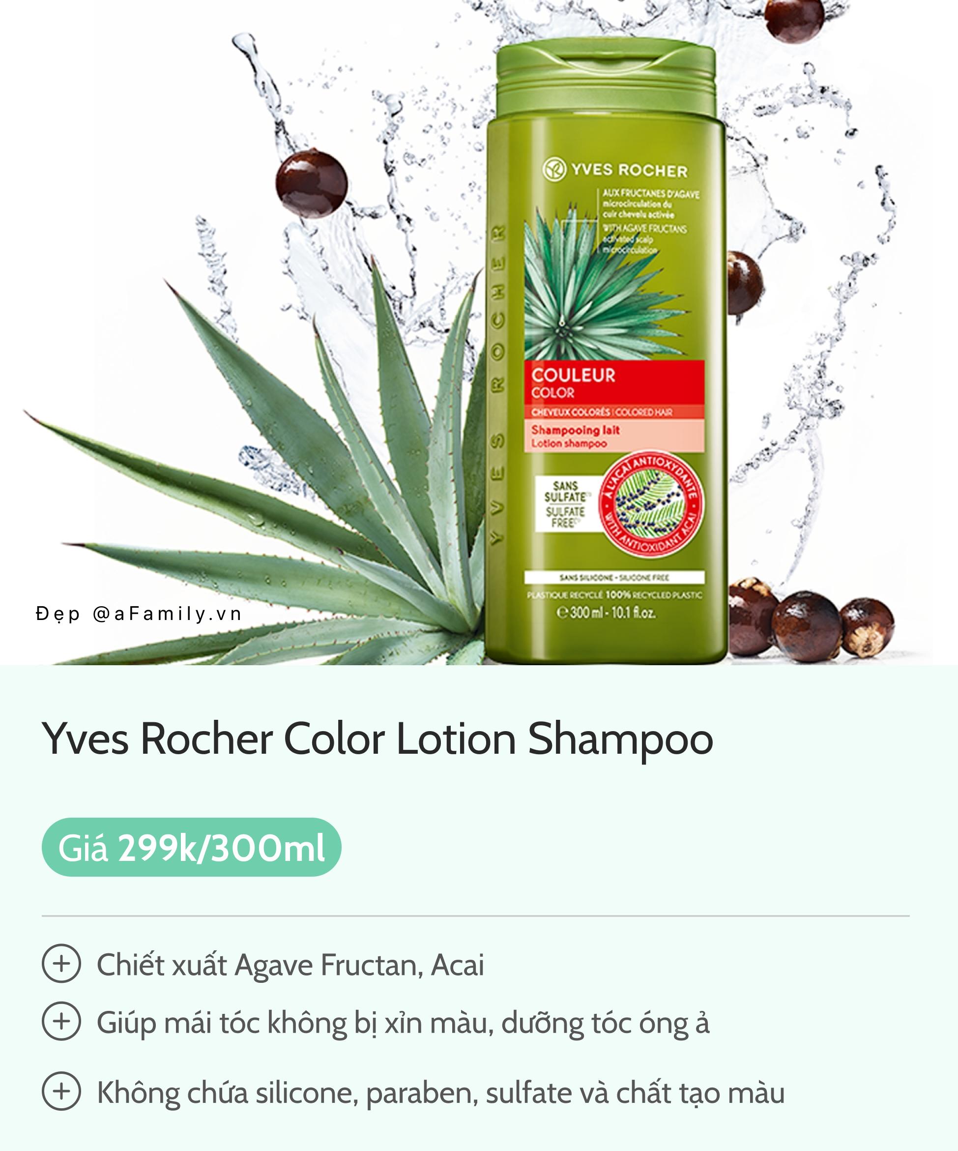 5 loại dầu gội dành riêng cho tóc nhuộm, để tóc bền màu mà không sợ khô xơ - Ảnh 5.