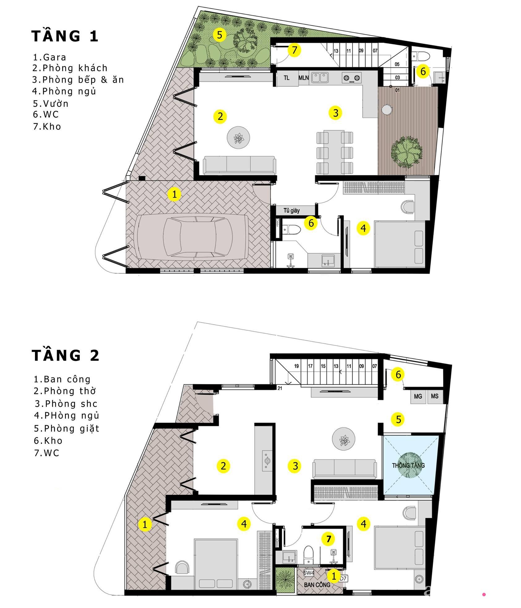Nhà trong hẻm nhỏ vẫn ngập tràn ánh sáng, duyên dáng với nội thất tối giản ở Đà Nẵng - Ảnh 4.
