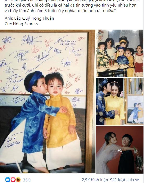 3 tuổi hôn lên má cô bé, 23 năm sau chàng trai thành công rước nàng về dinh, hành trình gian nan thành công nhờ bí quyết chỉ có 1 từ! - Ảnh 1.