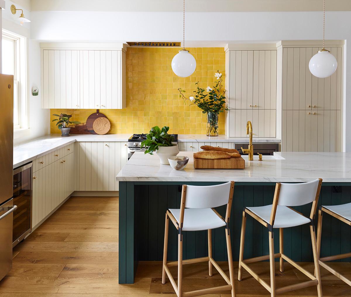 """Căn bếp màu vàng – xanh: xu hướng thời thượng được dự đoán """"hot nhất"""" năm 2021 - Ảnh 1."""
