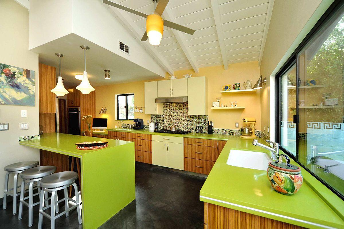 """Căn bếp màu vàng – xanh: xu hướng thời thượng được dự đoán """"hot nhất"""" năm 2021 - Ảnh 4."""