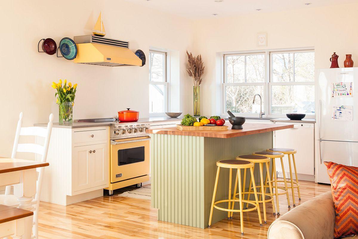 """Căn bếp màu vàng – xanh: xu hướng thời thượng được dự đoán """"hot nhất"""" năm 2021 - Ảnh 5."""