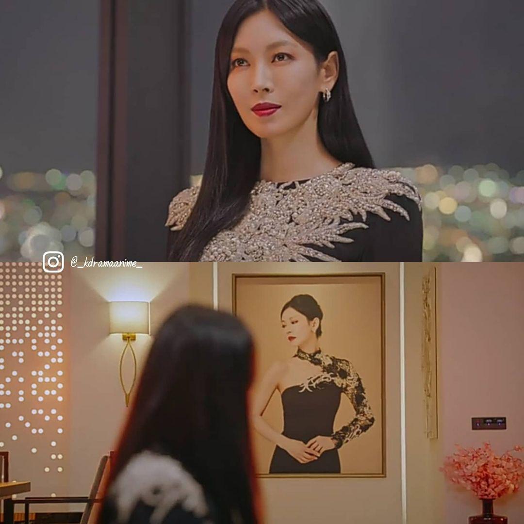 Ác nữ Cheon Seo Jin vẫn phải mượn váy thửa riêng cho Jisoo để debut làm chủ mới Penthouse, tiền nhiều để làm gì vậy nhỉ? - Ảnh 2.