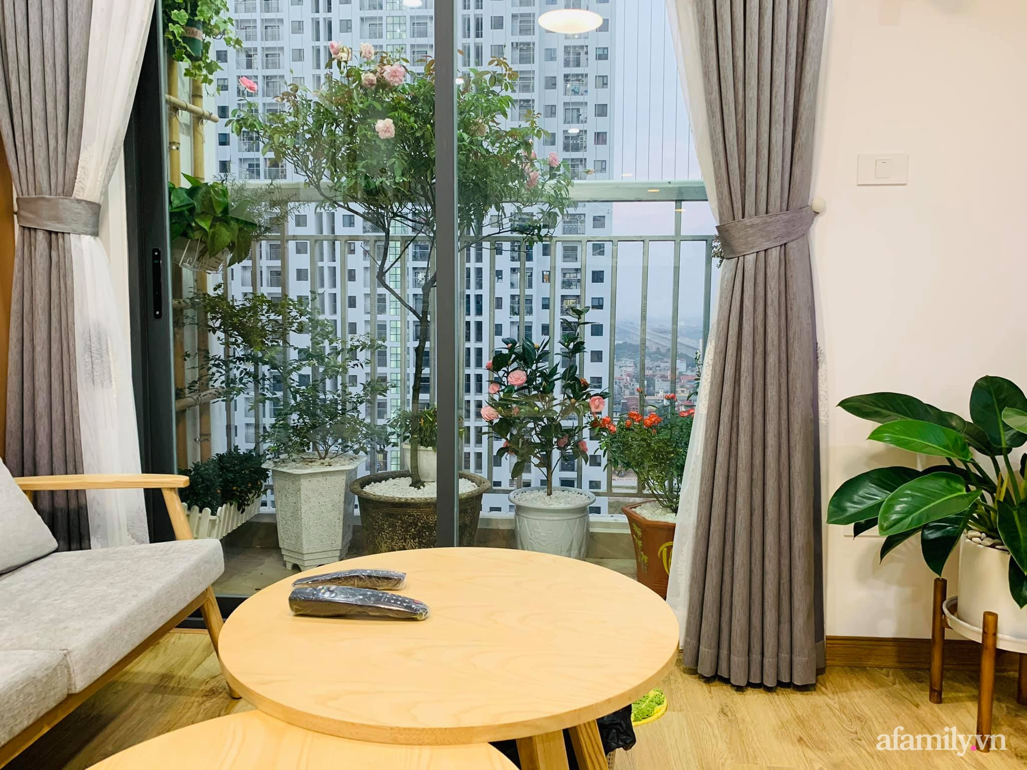 Nhà ở xã hội 69m² siêu ấm áp và tiện ích có chi phí cải tạo 200 triệu đồng của cặp vợ chồng 9X ở Từ Liêm, Hà Nội - Ảnh 6.