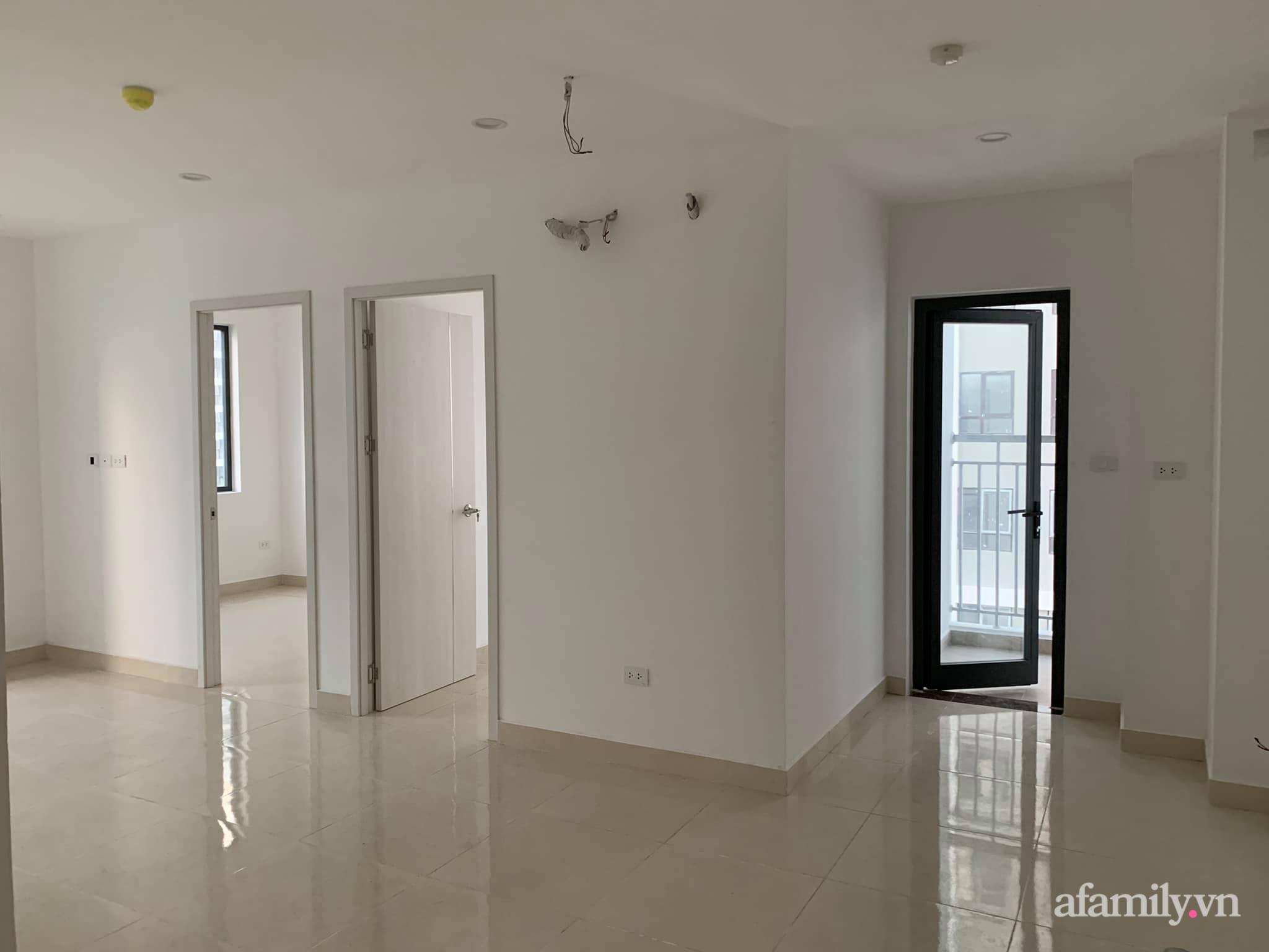 Nhà ở xã hội 69m² siêu ấm áp và tiện ích có chi phí cải tạo 200 triệu đồng của cặp vợ chồng 9X ở Từ Liêm, Hà Nội - Ảnh 2.