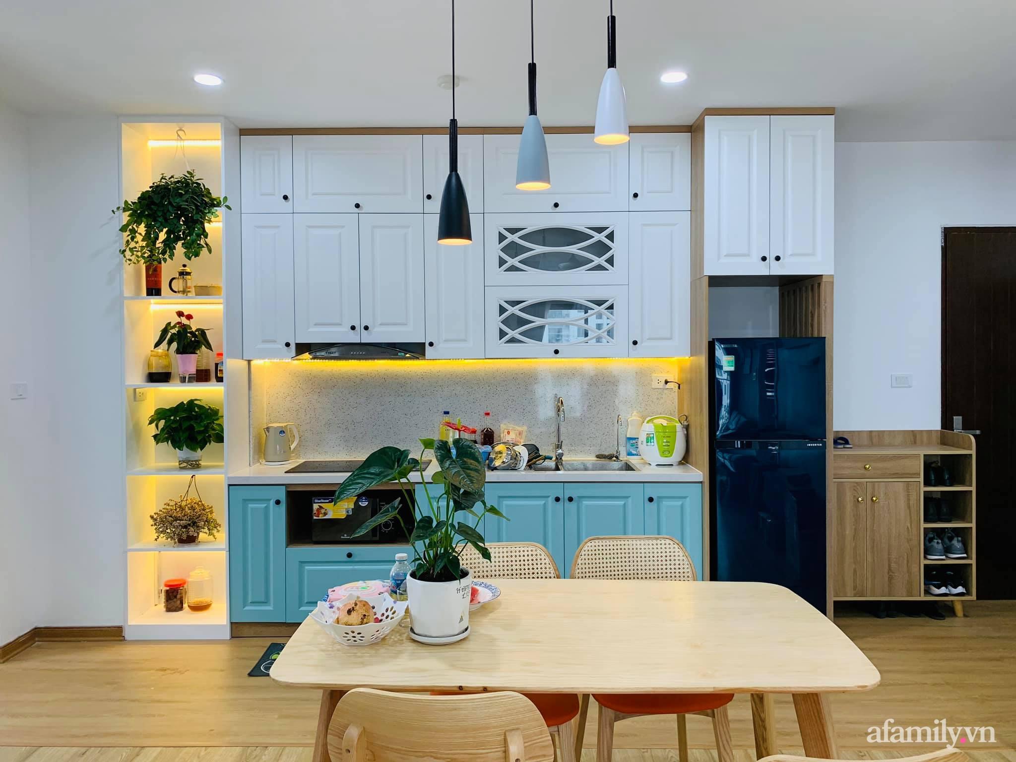 Nhà ở xã hội 69m² siêu ấm áp và tiện ích có chi phí cải tạo 200 triệu đồng của cặp vợ chồng 9X ở Từ Liêm, Hà Nội - Ảnh 11.