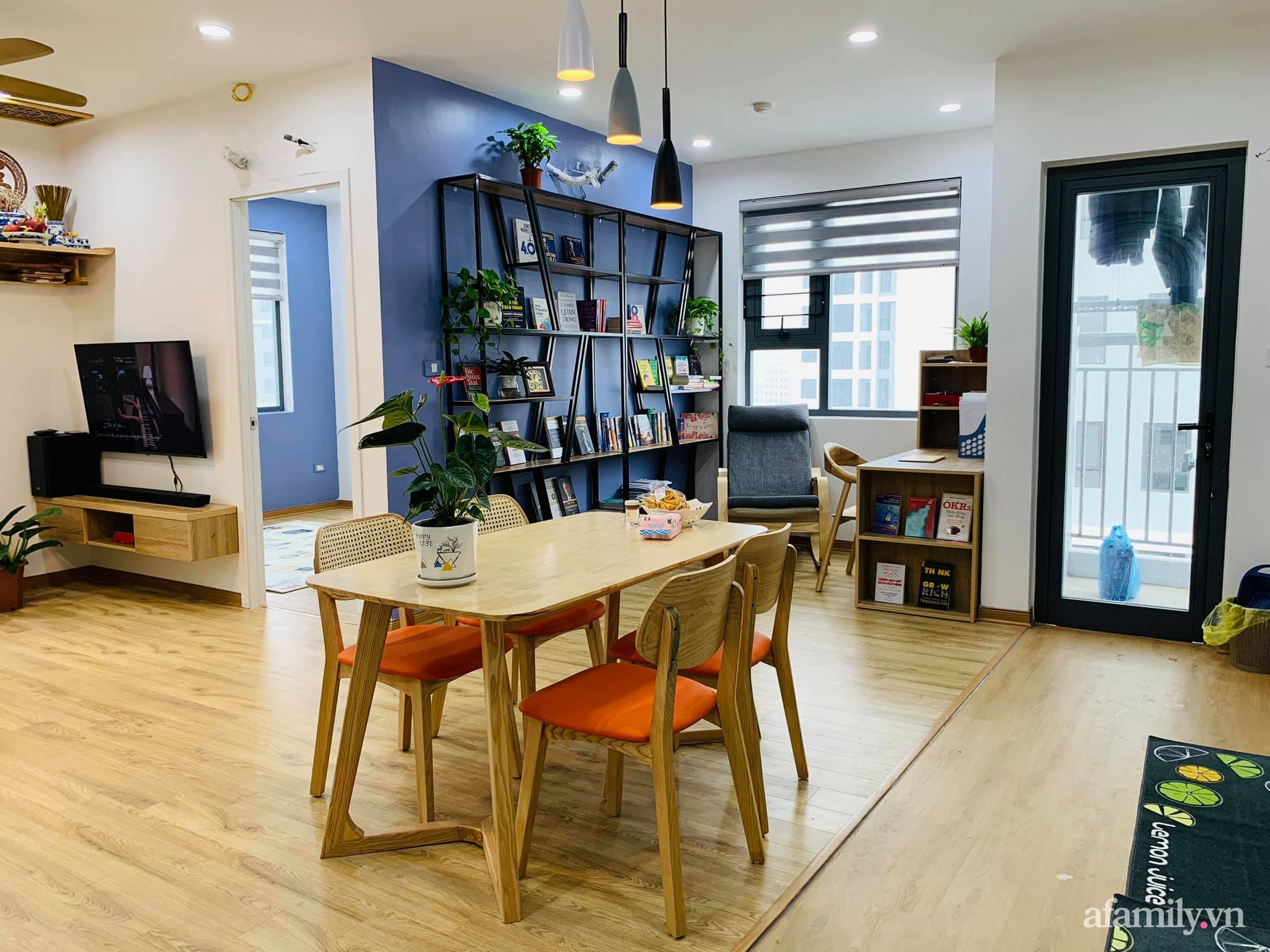 Nhà ở xã hội 69m² siêu ấm áp và tiện ích có chi phí cải tạo 200 triệu đồng của cặp vợ chồng 9X ở Từ Liêm, Hà Nội - Ảnh 13.