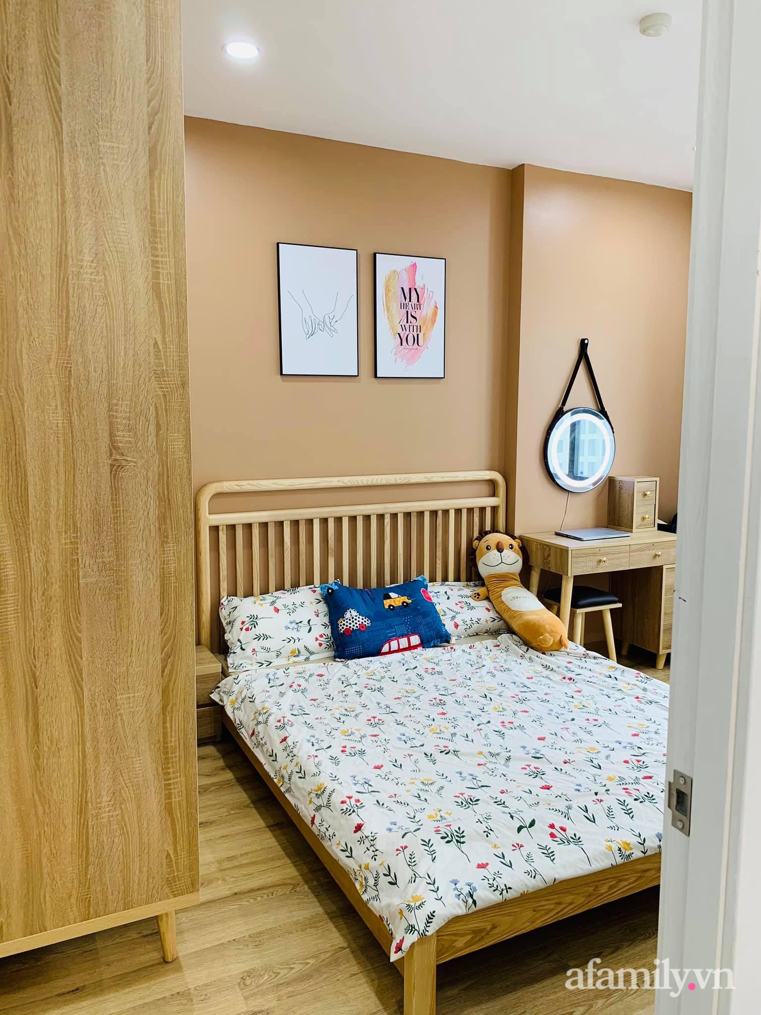 Nhà ở xã hội 69m² siêu ấm áp và tiện ích có chi phí cải tạo 200 triệu đồng của cặp vợ chồng 9X ở Từ Liêm, Hà Nội - Ảnh 16.
