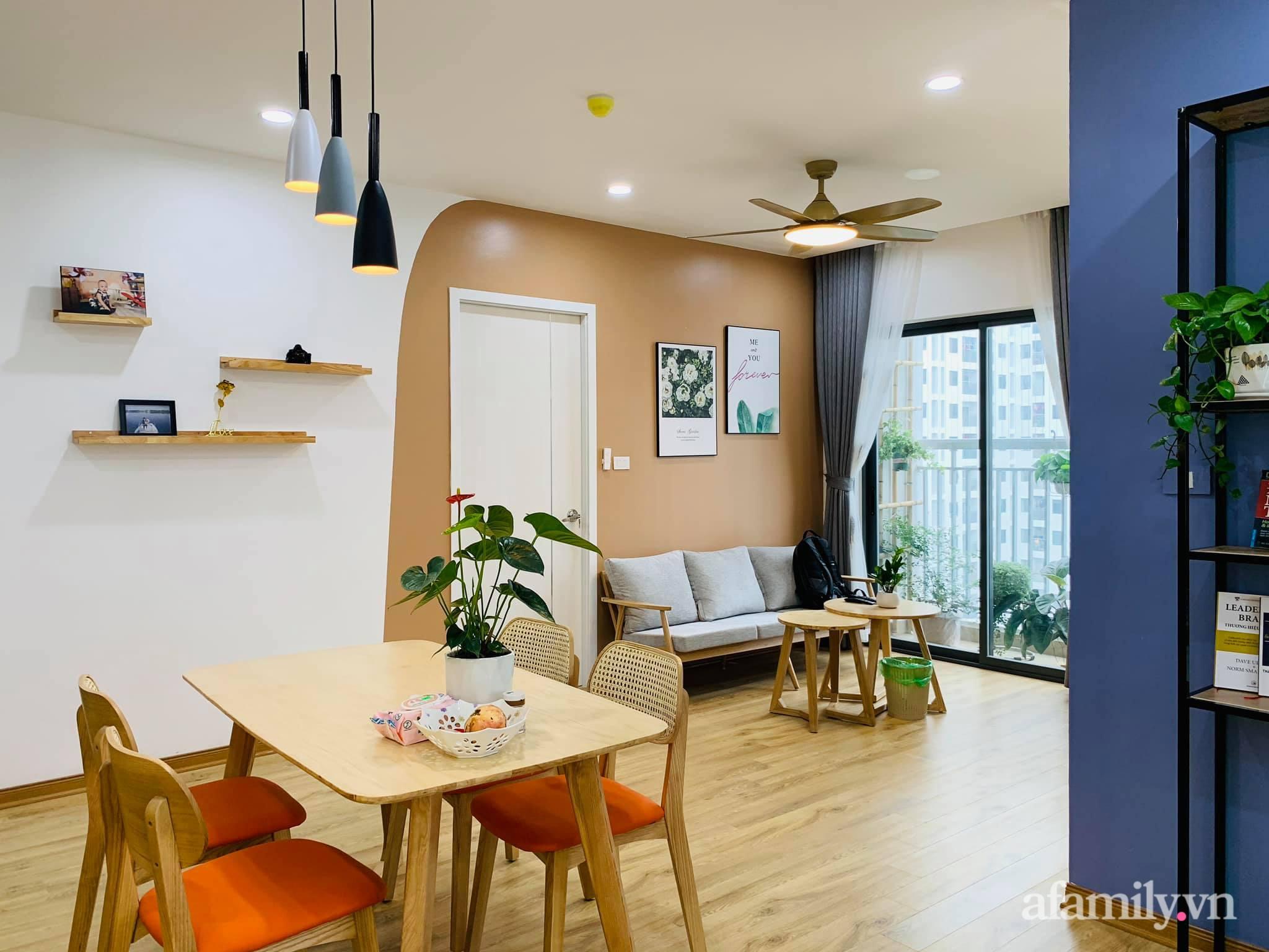 Nhà ở xã hội 69m² siêu ấm áp và tiện ích có chi phí cải tạo 200 triệu đồng của cặp vợ chồng 9X ở Từ Liêm, Hà Nội - Ảnh 7.