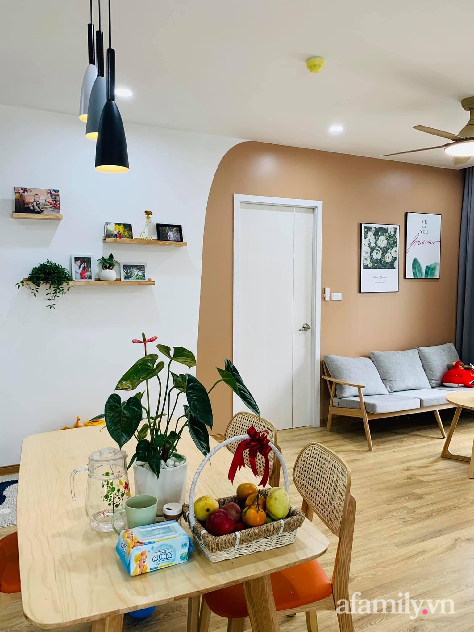 Nhà ở xã hội 69m² siêu ấm áp và tiện ích có chi phí cải tạo 200 triệu đồng của cặp vợ chồng 9X ở Từ Liêm, Hà Nội - Ảnh 12.