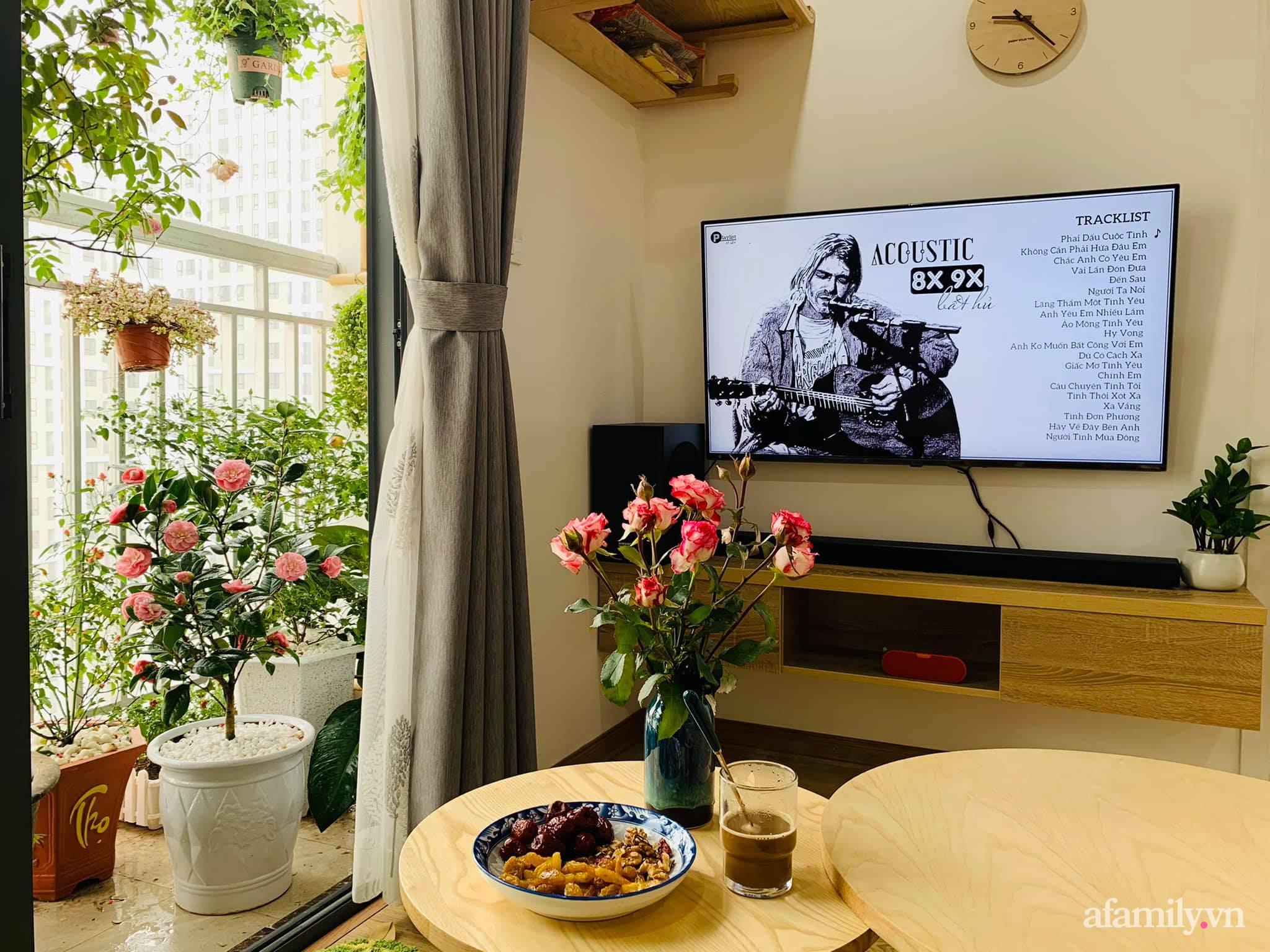 Nhà ở xã hội 69m² siêu ấm áp và tiện ích có chi phí cải tạo 200 triệu đồng của cặp vợ chồng 9X ở Từ Liêm, Hà Nội - Ảnh 8.