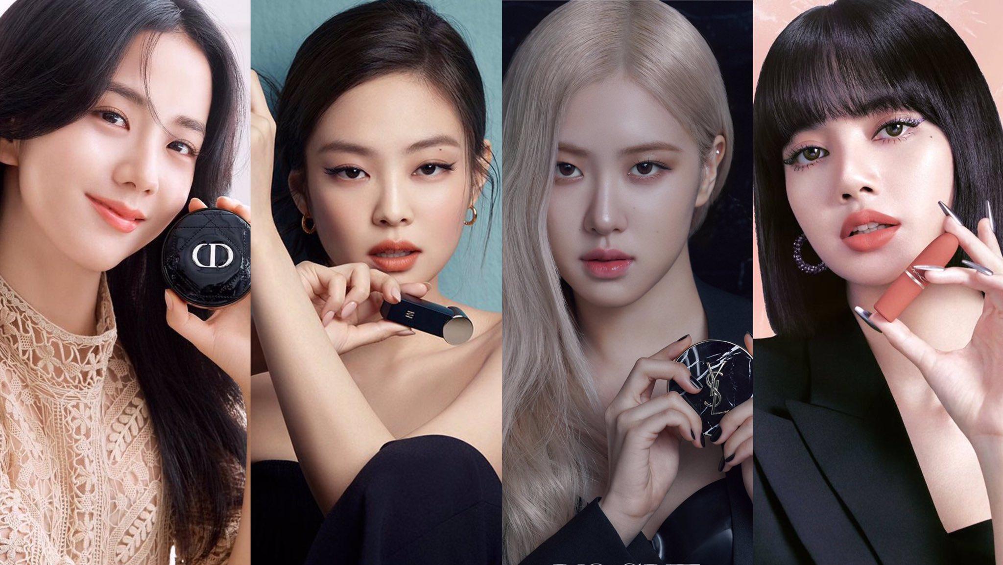 """BLACKPINK trong cuộc chiến quảng cáo mỹ phẩm: Jisoo """"lạc quẻ"""" nhất nhưng không hề kém cạnh 3 mẩu còn lại - Ảnh 1."""