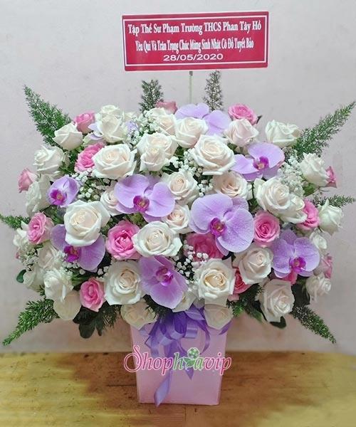 """Shop Hoa VIP – Dịch vụ điện hoa sinh nhật đẹp """"ship hỏa tốc"""" - Ảnh 1."""