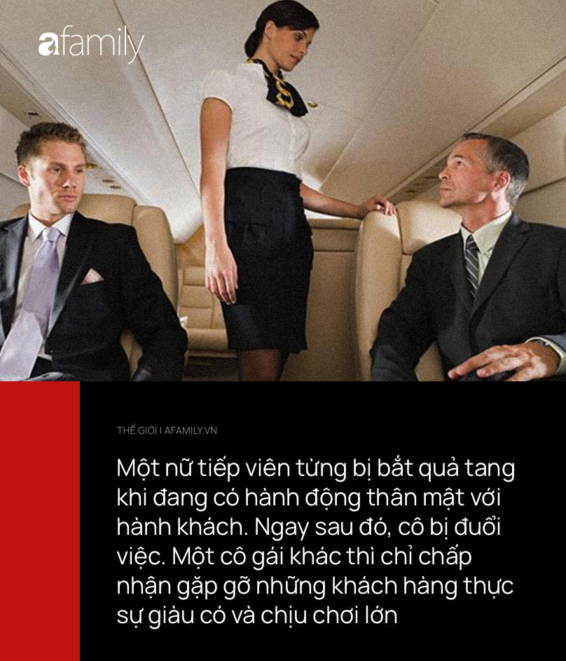 """Mảng tối rùng mình phía sau nghề tiếp viên hàng không hào nhoáng: """"Mua vui"""" cho khách hạng sang ngay trên máy bay, quan hệ với phi công còn viết lại nhật ký - Ảnh 3."""