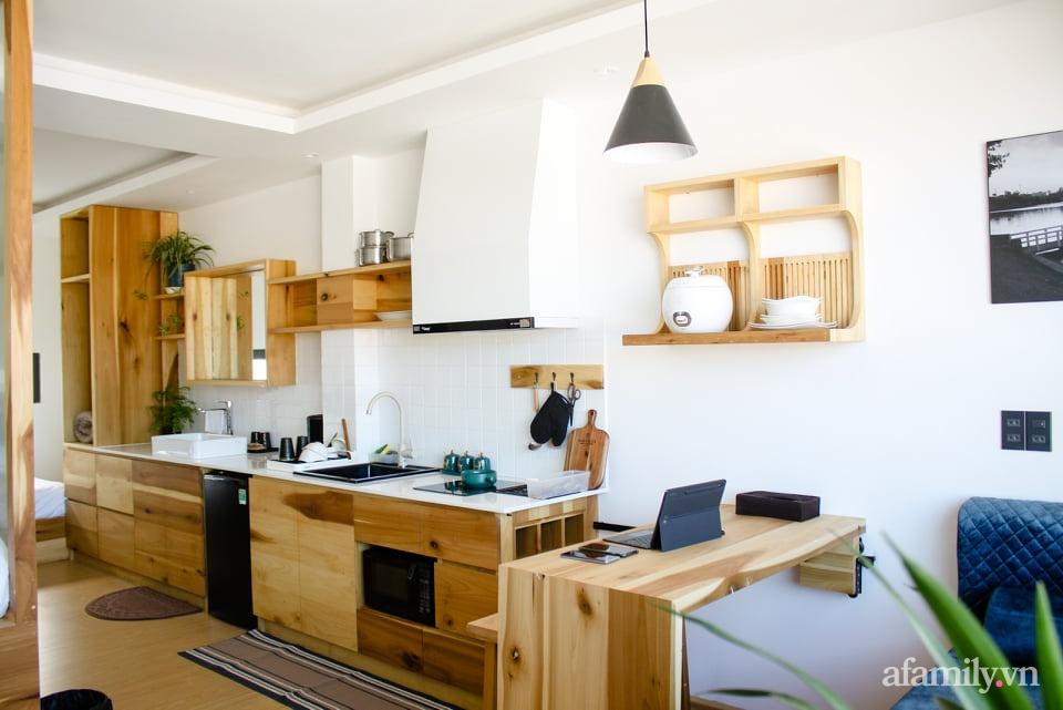 """Căn nhà """"thôi miên"""" bằng nội thất gỗ tự nhiên cùng phong cách tối giản của chàng trai Đà Lạt - Ảnh 8."""