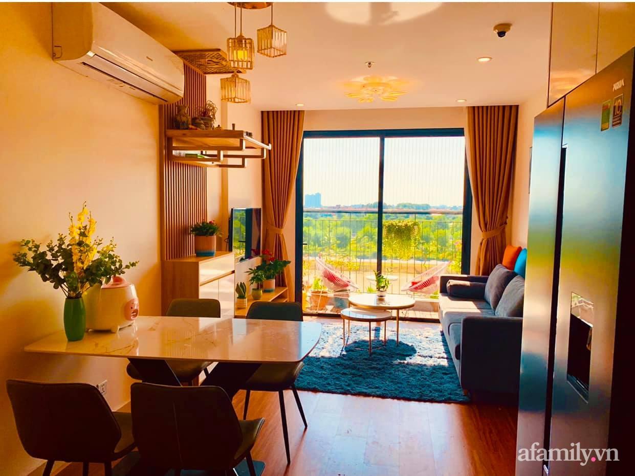 Căn hộ ấm cúng với đủ tiện ích cùng view xanh mát thiên nhiên của cặp vợ chồng trẻ sau 4 năm đi thuê nhà Hà Nội - Ảnh 8.