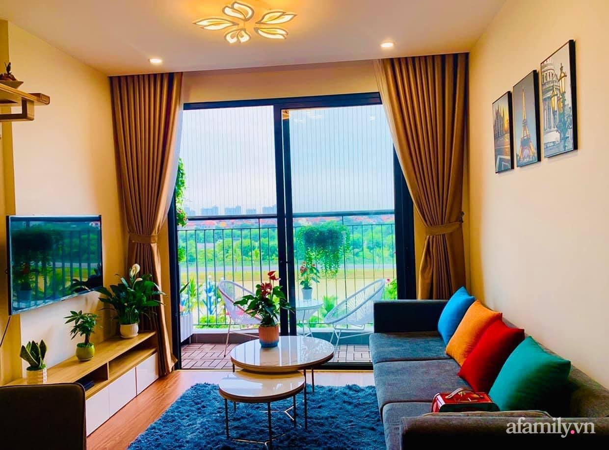 Căn hộ ấm cúng với đủ tiện ích cùng view xanh mát thiên nhiên của cặp vợ chồng trẻ sau 4 năm đi thuê nhà Hà Nội - Ảnh 4.